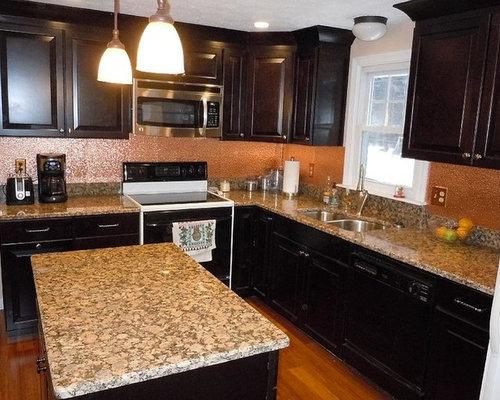 Portland Maine Kitchen Design Ideas Renovations Photos With Black Appliances