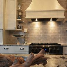 Transitional Kitchen by Wells-Street Design