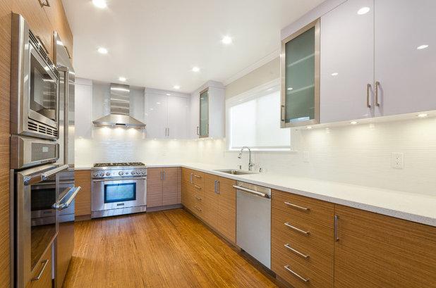 Guida houzz come illuminare il piano lavoro della tua cucina