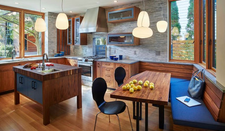 Houzz  Alternatives To A Big Kitchen Island