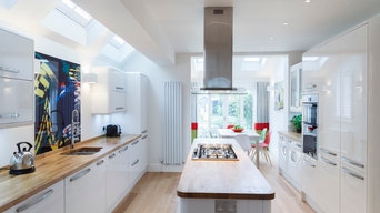 Kitchen and Dining Area for a Victorian Terrace