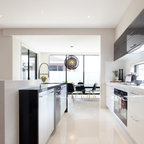Countertop Ice Maker Edmonton : Contemporary Small Kitchen - Contemporary - Kitchen - San Francisco ...
