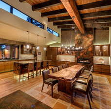 Rustic Kitchen by Raftery construction