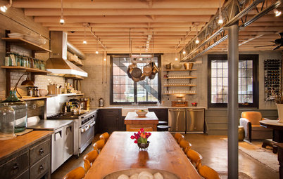 Houzz Tour: Bootlegging Past, Quirky Supper Club Present