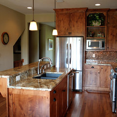 traditional kitchen by K Architectural Design, LLC