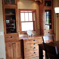 Traditional Kitchen by K Architectural Design, LLC