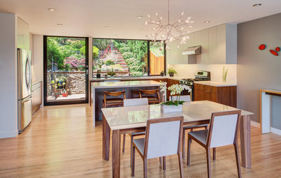 Houzz Tour: 'Surgical Remodel' Adds Modern Style to a Row House