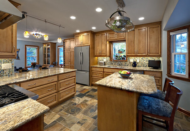 Contemporary Kitchen by Quality Cut Remodelers