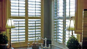Kitchen and Dining Room Shutters