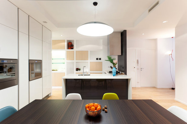 Contemporaneo Cucina by WISP Architects