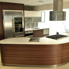 modern kitchen by Renewable Living, Inc.