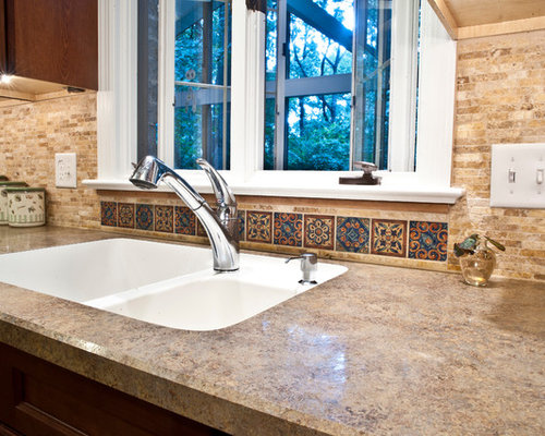Small Southwest Backsplash Home Design Ideas, Pictures, Remodel and Decor - 웹