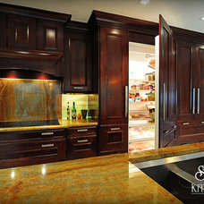 Traditional Kitchen by Jaime Cadorette - S&W Kitchens