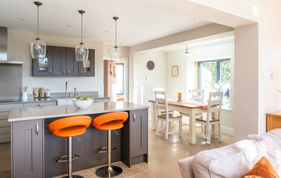 Sunny New Kitchen, Dining Area and Garden Room in England