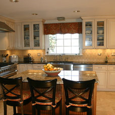 Traditional Kitchen by Sherman Construction LLC