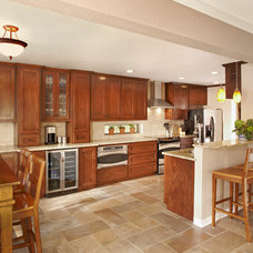 Transitional Kitchen by BRY-JO Roofing and Remodeling