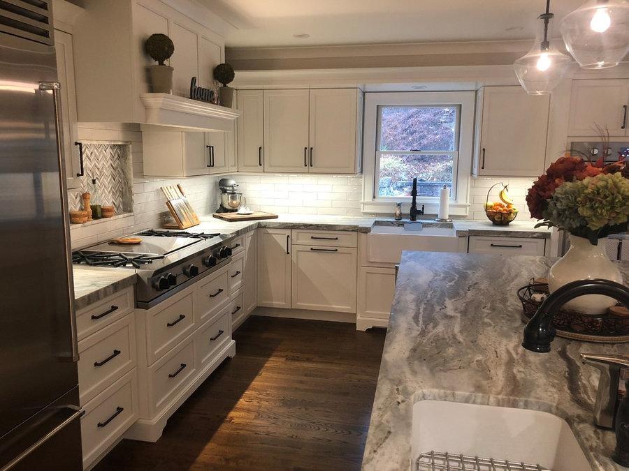 Kitchen & Living room reno