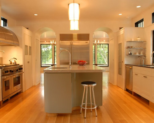 Galley Kitchen Remodeling Pictures Ideas Tips From: Double Oven Kitchen Design Ideas & Remodel Pictures