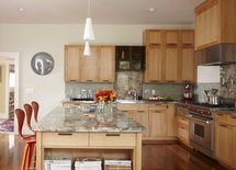What type of wood and finish are these cabinets? Thx.