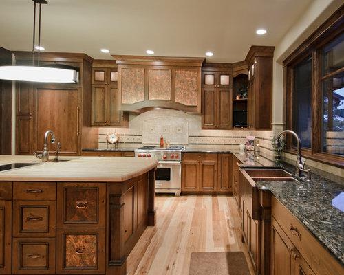 Copper Appliances Kitchen copper refrigerator | houzz