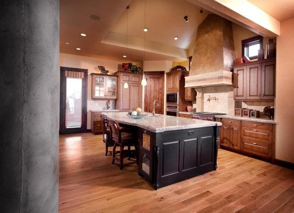 Traditional Kitchen by Aneka Interiors Inc.