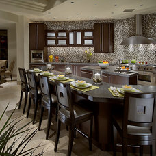 Contemporary Kitchen by Angelica Henry Design