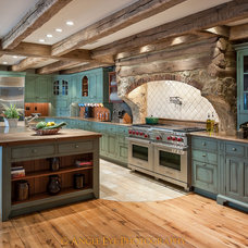 Traditional Kitchen by Angle Eye Photography