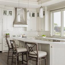 Beach Style Kitchen by Anita Clark Design