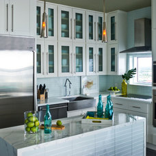 Contemporary Kitchen by ANN SACKS