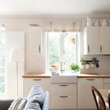 Contemporary Kitchen by Anneli Saluste