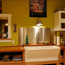 Eclectic Kitchen by Lewis Creek Company