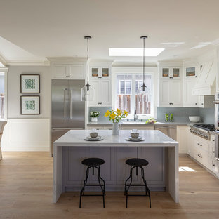 Small Farmhouse Open Concept Kitchen Pictures Cottage L Shaped
