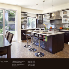 Kitchen by Arch Studio, Inc.