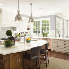 traditional kitchen by Arch Studio, Inc.