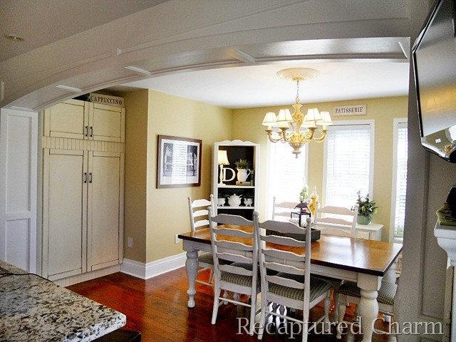 Traditional Kitchen Kitchen Archway @ Recaptured Charm