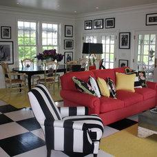 Eclectic Living Room by Maggie Kopf