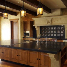 Traditional Kitchen by Austins Romancing The Stone