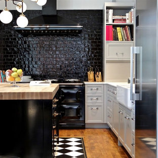 Black And White Tile Floor Kitchen Ideas Photos Houzz