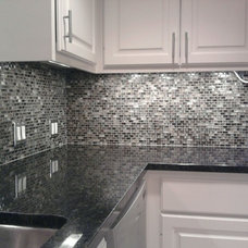 Contemporary Kitchen by Custom Surface Solutions