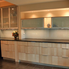Contemporary Kitchen by Classic Glass, Inc.
