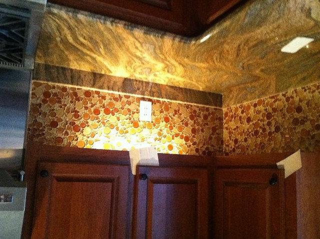 Modern Kitchen by American Tile and Stone/Backsplashtogo.com