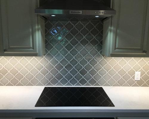 Kitchen Backsplash 6 Arabesque Tile