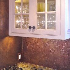 Traditional Kitchen by Yveline & Associates, Ltd.