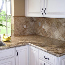 Traditional Kitchen by Tile & Stone Pro
