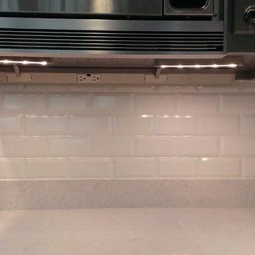 "KITCHEN - Backsplash - Ann Sacks 3"" x 6"" Beveled Subway Tile"