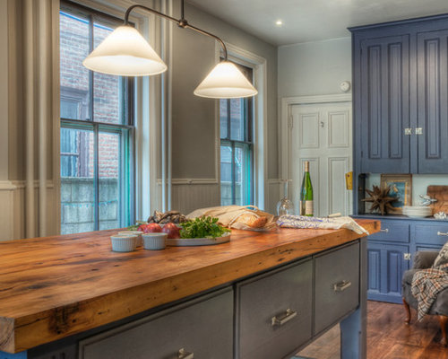 Butcher Block Counter Top Kitchen Home Design Ideas, Pictures, Remodel and Decor