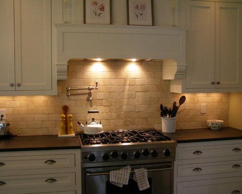 Tumbled Stone Backsplash Kitchen tumbled stone backsplash | houzz