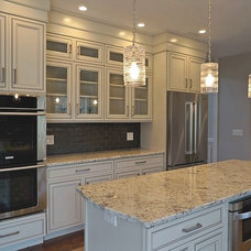 Traditional Kitchen by Cercan Tile Inc.