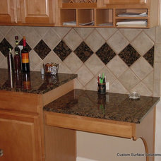 Traditional Kitchen by Custom Surface Solutions