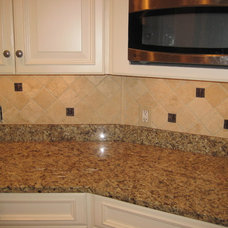 Traditional Kitchen by Fowler Tile Design